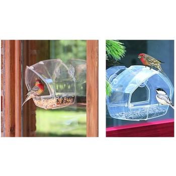 Woodstream Crystal Window Bird Feeder