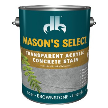 Transparent Acrylic Concrete Stain, Brownstone ~ Gallon
