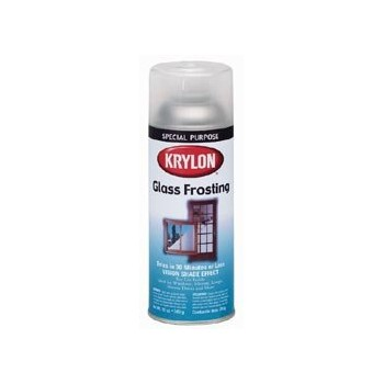Buy the krylon i00810 frosted glass effect paint spray for Type of spray paint for glass