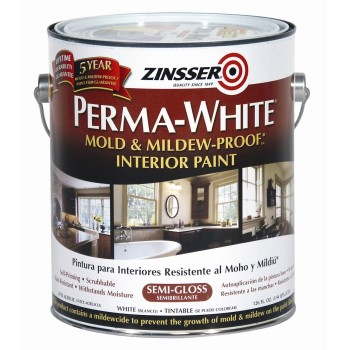 Zinsser Perma-While Mildew Proof Paint/Gal