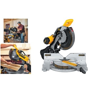 Double-Bevel Compound Miter Saw ~ 12""