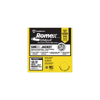 Romex Grounded NM Wire - 12/2g ~ 25ft.