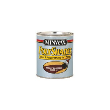 by minwax polyshades stain polyurethane a one step stain finish
