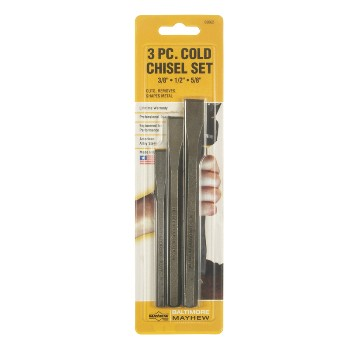 3pc Cold Chisel Set