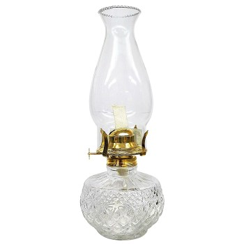 Lantern ~ Diamond Oil Lamp