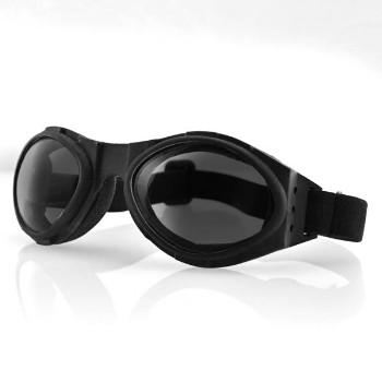 Bugeye Goggles, Smoked Lens, Black Frame