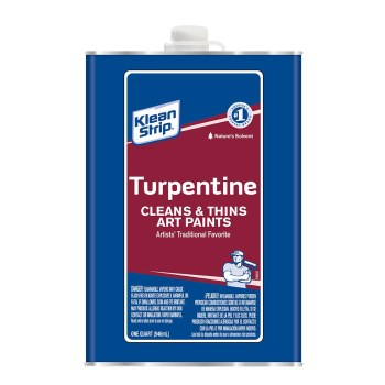 Kleen Strip Pure Gum Spirits Turpentine ~ Quart