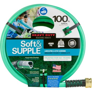 "Swan Soft & Supple 5/8"" x 100 ft. Garden Hose Garden Hose, Hose, Watering Hose, Hoses, Garden Hoses, Watering Hoses, Watering, Garden Watering"