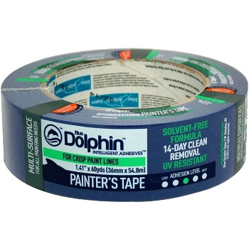 "Blue Dolphin Painter's Tape ~ 1.5"" x 60 yds"