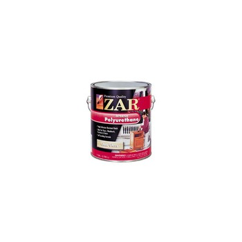 Buy the zar 20012 zar polyurethane glos quart at hardware world for Zar exterior water based polyurethane