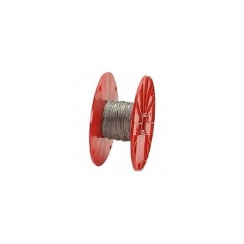Galvanized Cable 7 x 7, 1/8 inch x 500 ft.