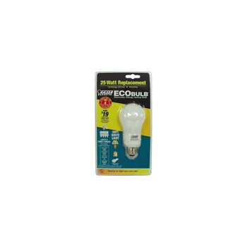 Compact Fluorescent Light Bulb, Household 5 Watt