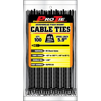 Cable Ties ~ 5.9in. 100pk