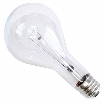 lighting light bulbs ge bulbs light bulb clear 130 volt 300 watt. Black Bedroom Furniture Sets. Home Design Ideas