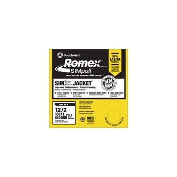 Romex - Grounded NM Wire - 12/2g 100ft.