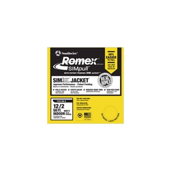 Romex Grounded NM Wire - 12/2g ~ 50 feet