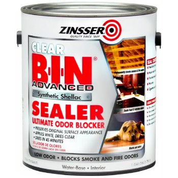 Buy The Zinsser 271460 Bin Synthetic Shellac Sealer Clear