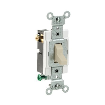 Toggle 3-Way Quiet Switch ~ Ivory