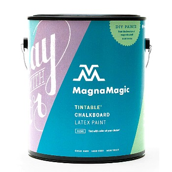 buy the magnamagic gbcp810 chalkboard paint tintable one gallon hardware world. Black Bedroom Furniture Sets. Home Design Ideas