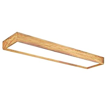 Decorator Ceiling Fixture ~ Oak Frame