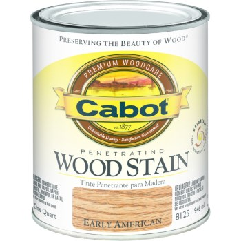 Interior Wood Stain,  Early American ~ Quart