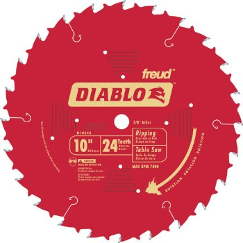 Ripping Blade, 24T 10 Inch