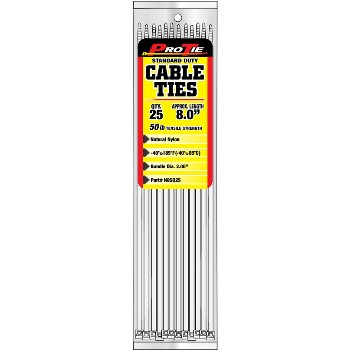 Cable Ties ~ 8in. 25pk