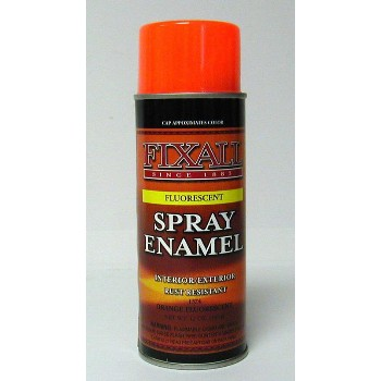 Buy The Fixall F1381 Spray Enamel Inverted Can Fluouescent Red Orange Hardware World
