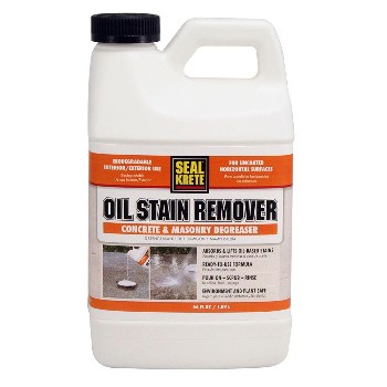 Concrete masonry driveway cleaners hardware world for Best oil cleaner for concrete