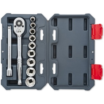 Socket Wrench Set - SAE - 11 pieces