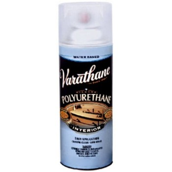 Buy The Rust Oleum 200181 Varathane Spray Diamond Water Based Polyurethane Semi Gloss