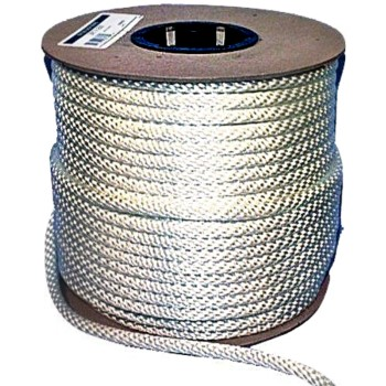 "Solid Braided Nylon Rope ~ 1/4"" x 250 Ft"