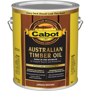 Australian Timber Oil - Jarrah Brown ~ Gallon