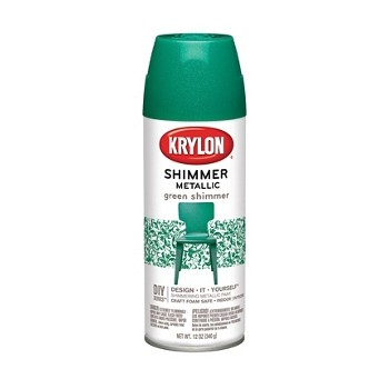 Buy The Krylon K03924000 Shimmer Metallic Finish Green 11 5 Oz Cans Hardware World