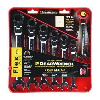 Sae 7 Pc Comb Wrench Set