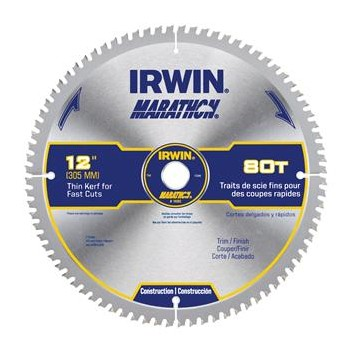 Buy the irwin 14083 marathon miter table saw blade 12 for 12 table saw blades