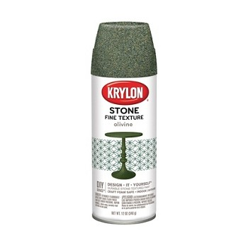 Buy the krylon k03705000 natural stone textured finish for Stone spray paint projects
