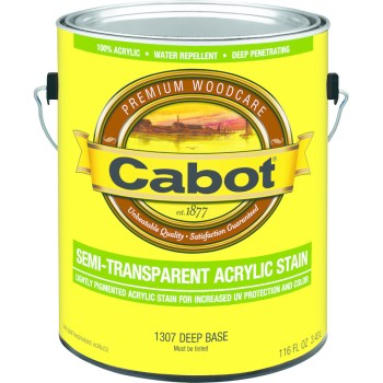 Water-Based Stain, Semi-Trans  Deep Base/Gallon