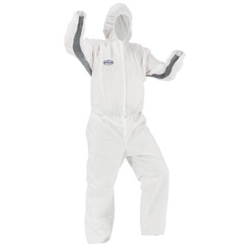 2xl 25pk White Coverall