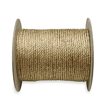 "Brown Rope - Twisted Poly 5/8"" x 600'"