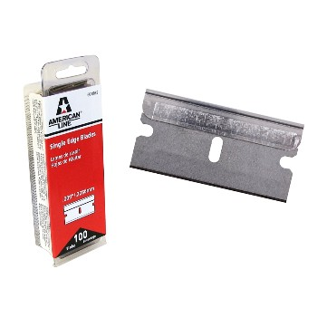 Razor Blades, Single Edge ~ Pack of 100