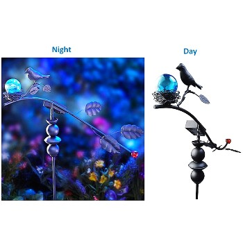 LED Dancing Bird Stake Light