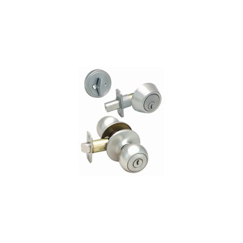 Lockset Deadbolt Combo, Helena