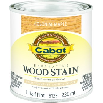 Wood Stain - Colonial Maple - 1/2 pint