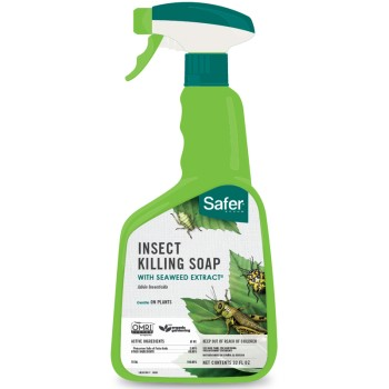Insect Killing Soap, The Safer(R) Brand - 32oz, Spray Bottle