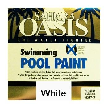 Buy The Sahara Oasis 5210 2 Swimming Pool Paint White Gallon Hardware World