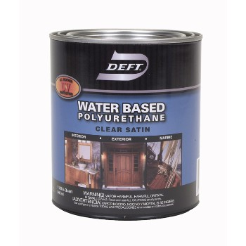 Buy The Deft Dft259 04 Polyurethane Finish Water Based