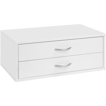 Doublehung 2 Drawer, White