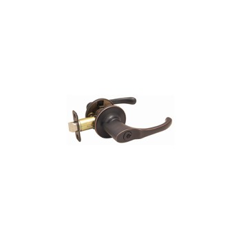 Entry Lever Lock, Greystone