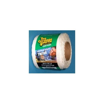 White Cotton Twine, 300 feet